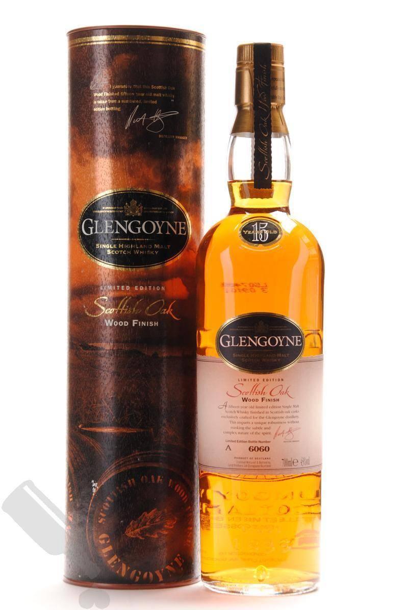 Glengoyne 15 Years Scottish Oak Wood Finish