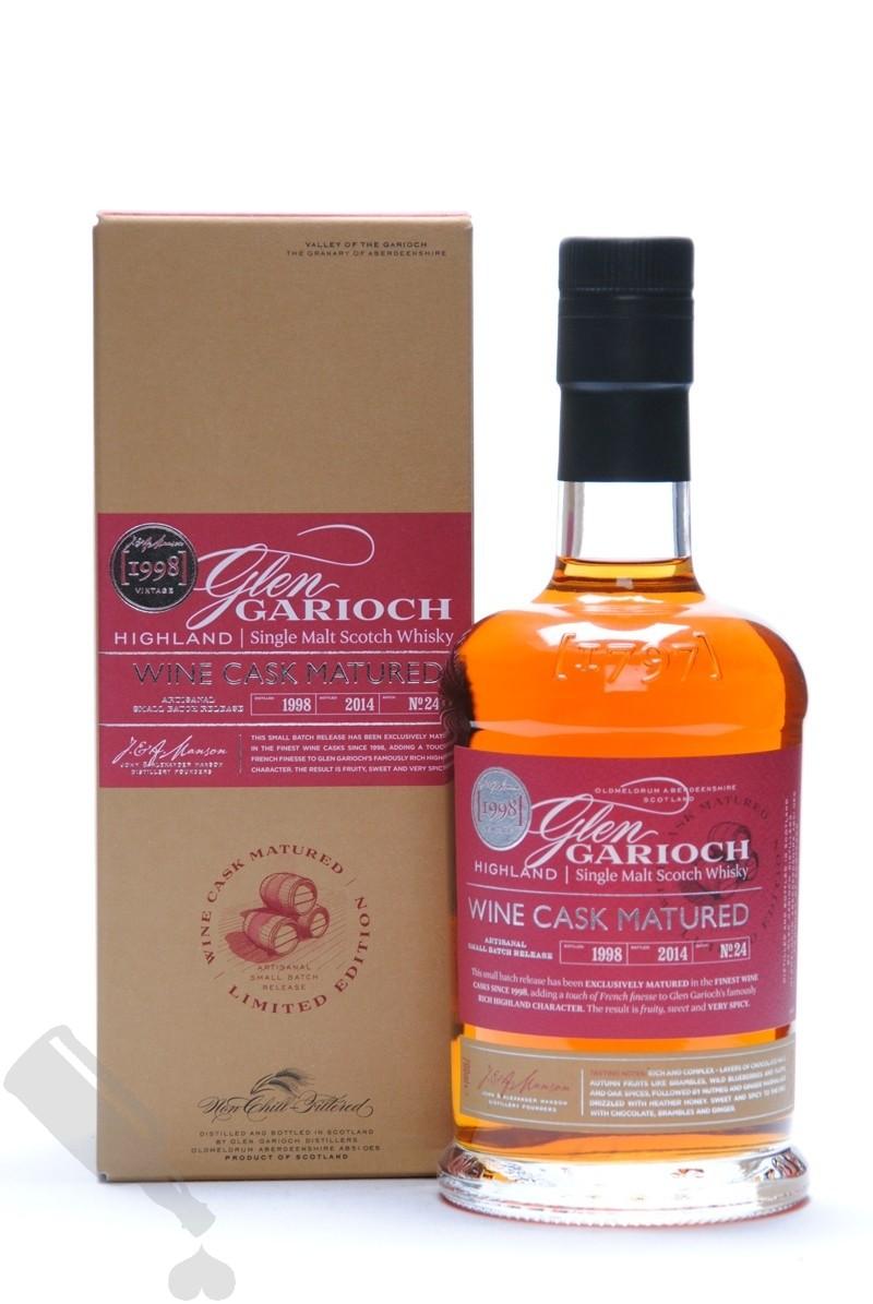 Glen Garioch 1998 - 2014 Wine Cask Matured Batch No. 24