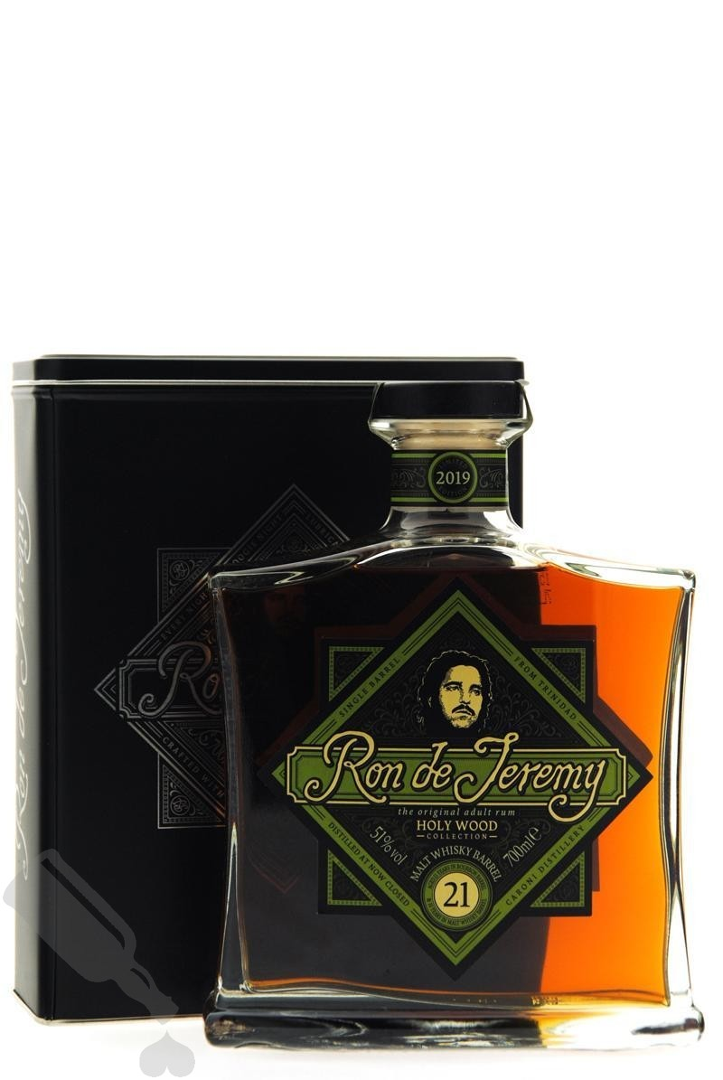 Ron de Jeremy 21 years Malt Whisky Barrel Holy Wood Collection