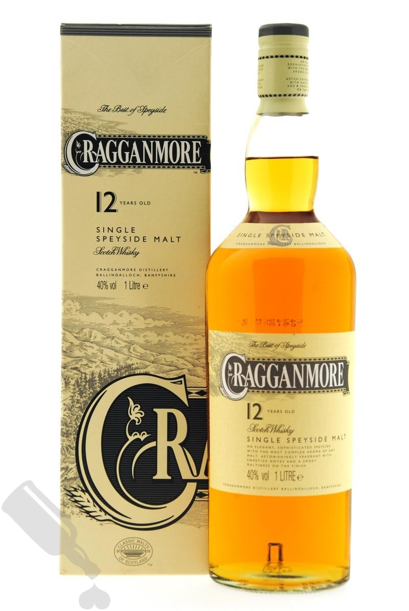 Cragganmore 12 years 100cl