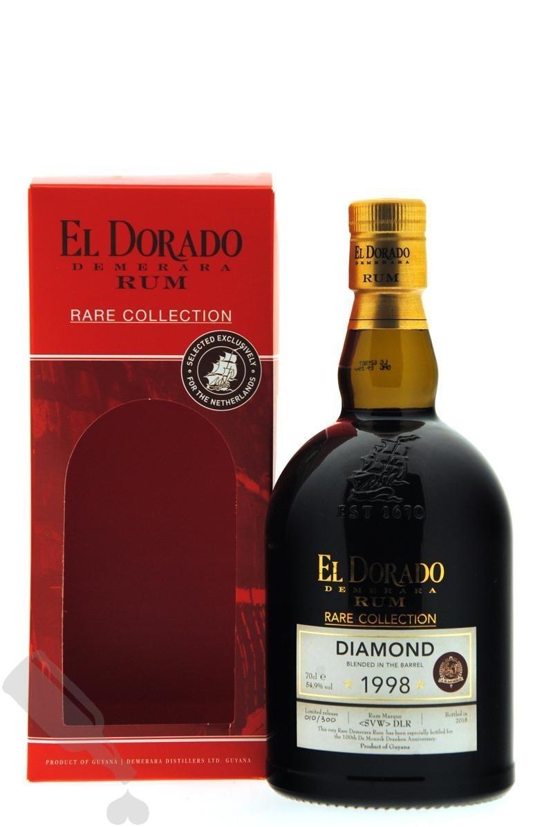 Diamond 20 years 1998 - 2018 El Dorado for 100th Anniversary De Monnik Dranken