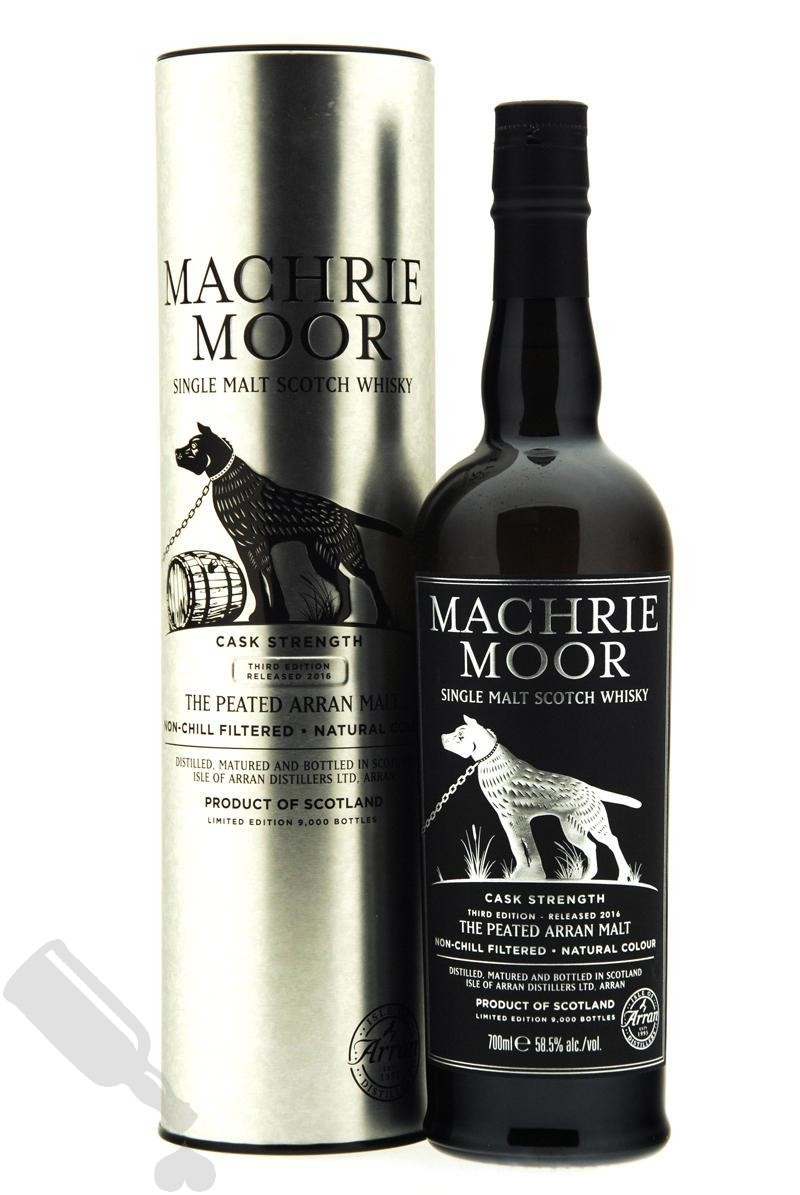 Arran Machrie Moor Cask Strength Third Edition Released 2016