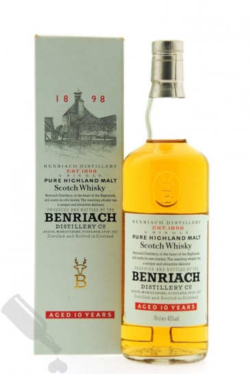 Benriach 10 years - Old Bottling