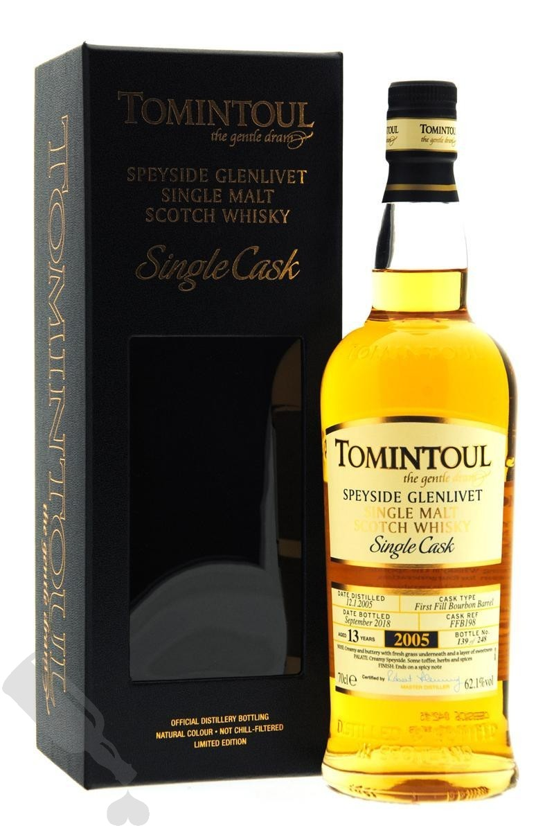 Tomintoul 13 years 2005 - 2018 #FFB198 Single Bourbon Cask