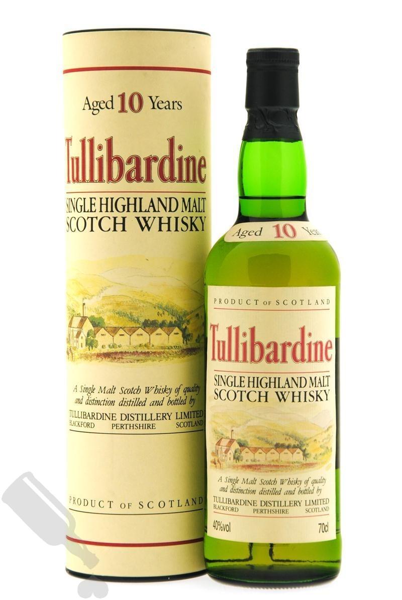Tullibardine 10 years - Old Bottling