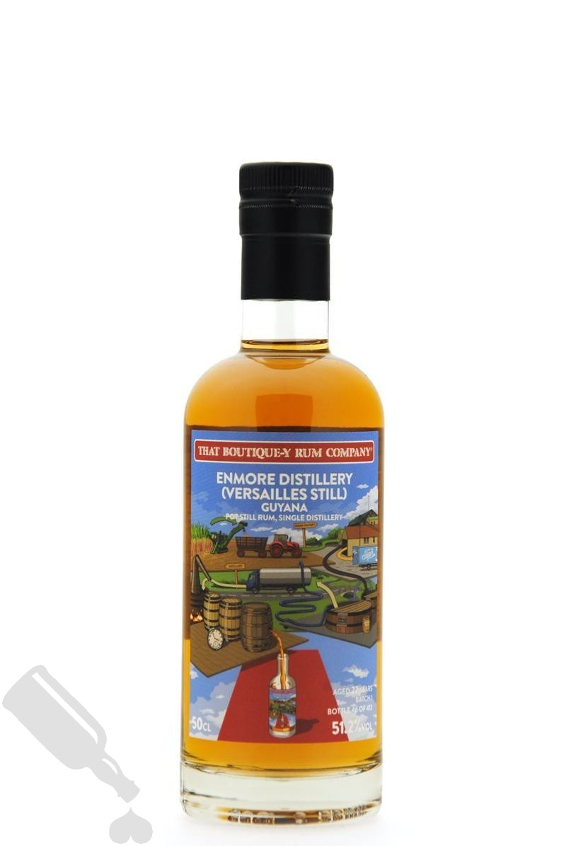 Enmore Versailles Still 27 years Batch 1 That Boutique-Y Rum Company 50cl