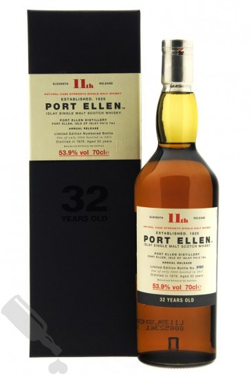 Port Ellen 32 years 1979 - 2011 11th Release