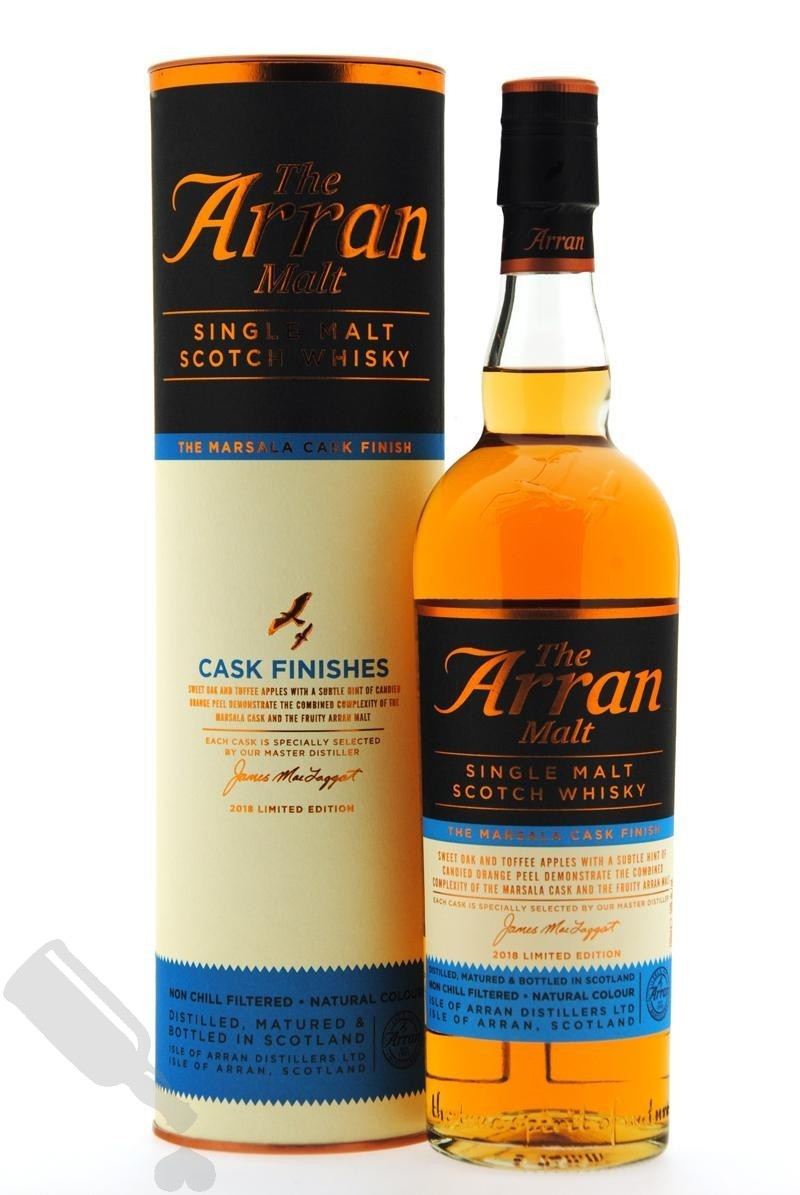 Arran The Marsala Cask Finish Limited Edition 2018