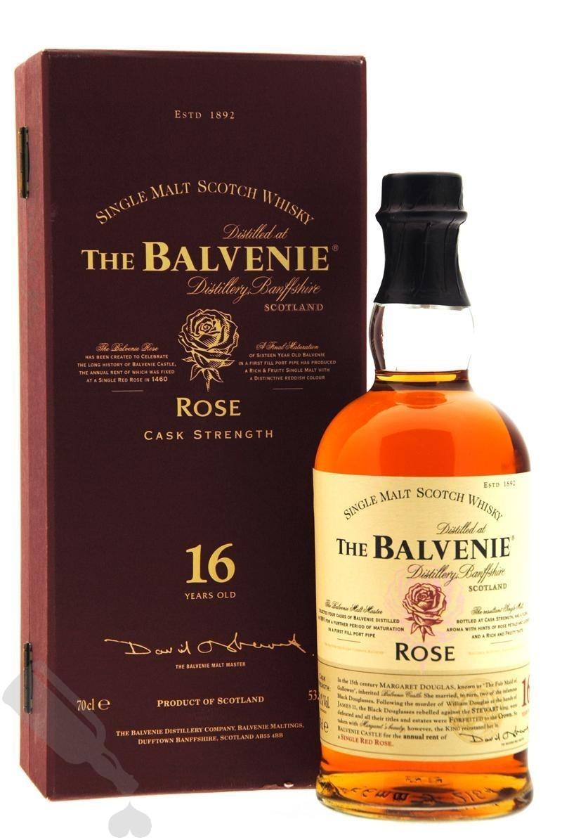 Balvenie 16 years Rose Cask Strength