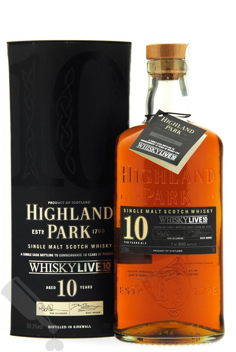 Highland Park 10 years 1999 - 2009 #5742 WhiskyLive 10th Anniversary