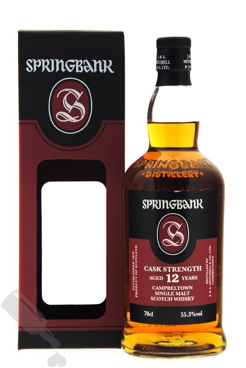 Springbank 12 years 2020 Cask Strength Batch 20