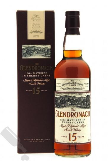 Glendronach 15 years - Old Bottling