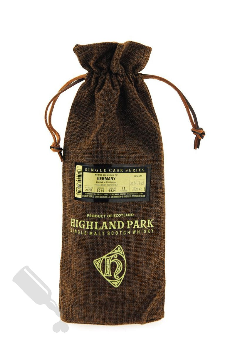 Highland Park 12 years 2006 - 2019 #6824 Single Cask for Germany