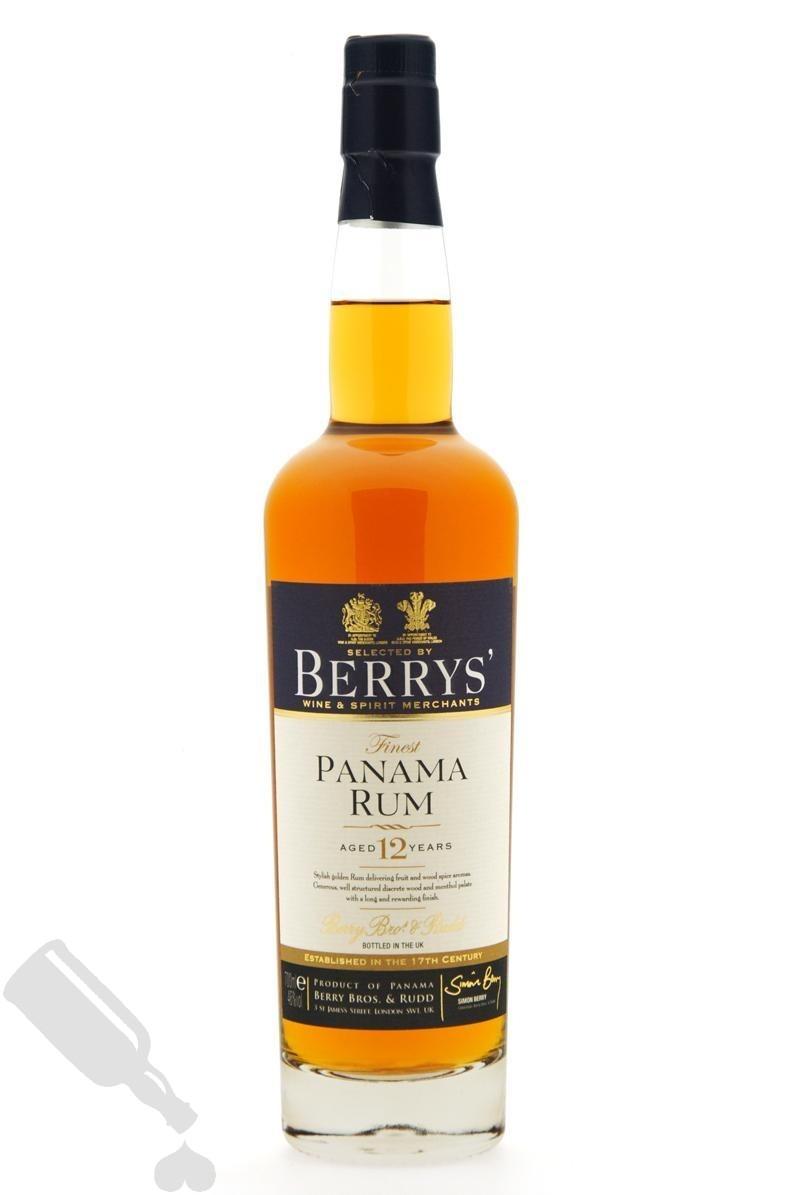 Panama Rum 12 years 2001 Berrys'