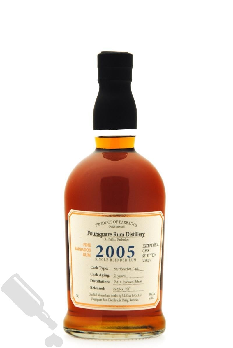 Foursquare 12 years 2005 - 2017 Exceptional Cask Selection Mark VI