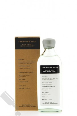Thompson Bros. Single Malt New Make Spirit 20cl
