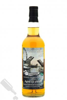 "Ledaig 22 years 1997 - 2020 Single Cask ""Reeky Harbour"""
