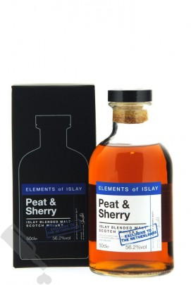 Elements of Islay Peat & Sherry - Exclusive to The Netherlands 50cl
