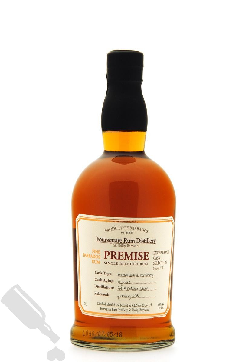 Foursquare 10 years 2018 Premise Exceptional Cask Selection Mark VIII