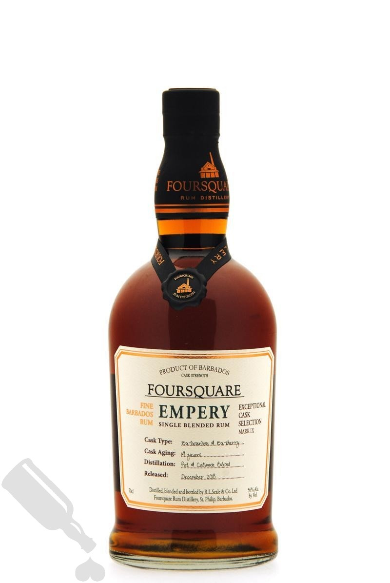 Foursquare 14 years 2018 Empery Exceptional Cask Selection Mark IX