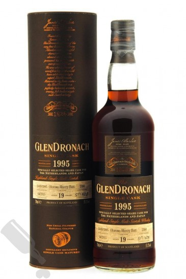 GlenDronach 19 years 1995 - 2015 #2380 for The Netherlands and Japan