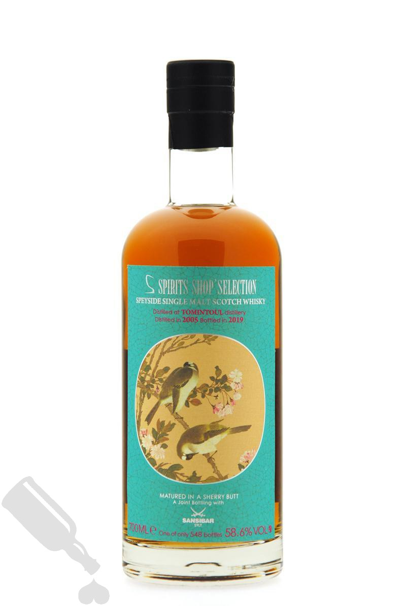 Tomintoul 14 years 2005 - 2019 Chinese Bird Label