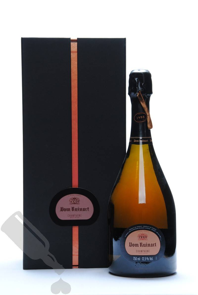 Dom Ruinart Rose 1998 Passion For Whisky