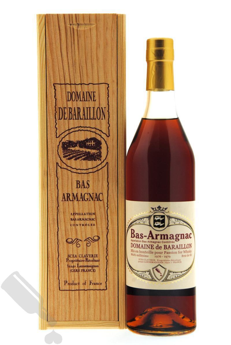 Domaine de Baraillon 1976-1979 Multi-Millésime pour Passion for Whisky