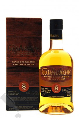 GlenAllachie 8 years Koval Rye Quarter Cask Wood Finish