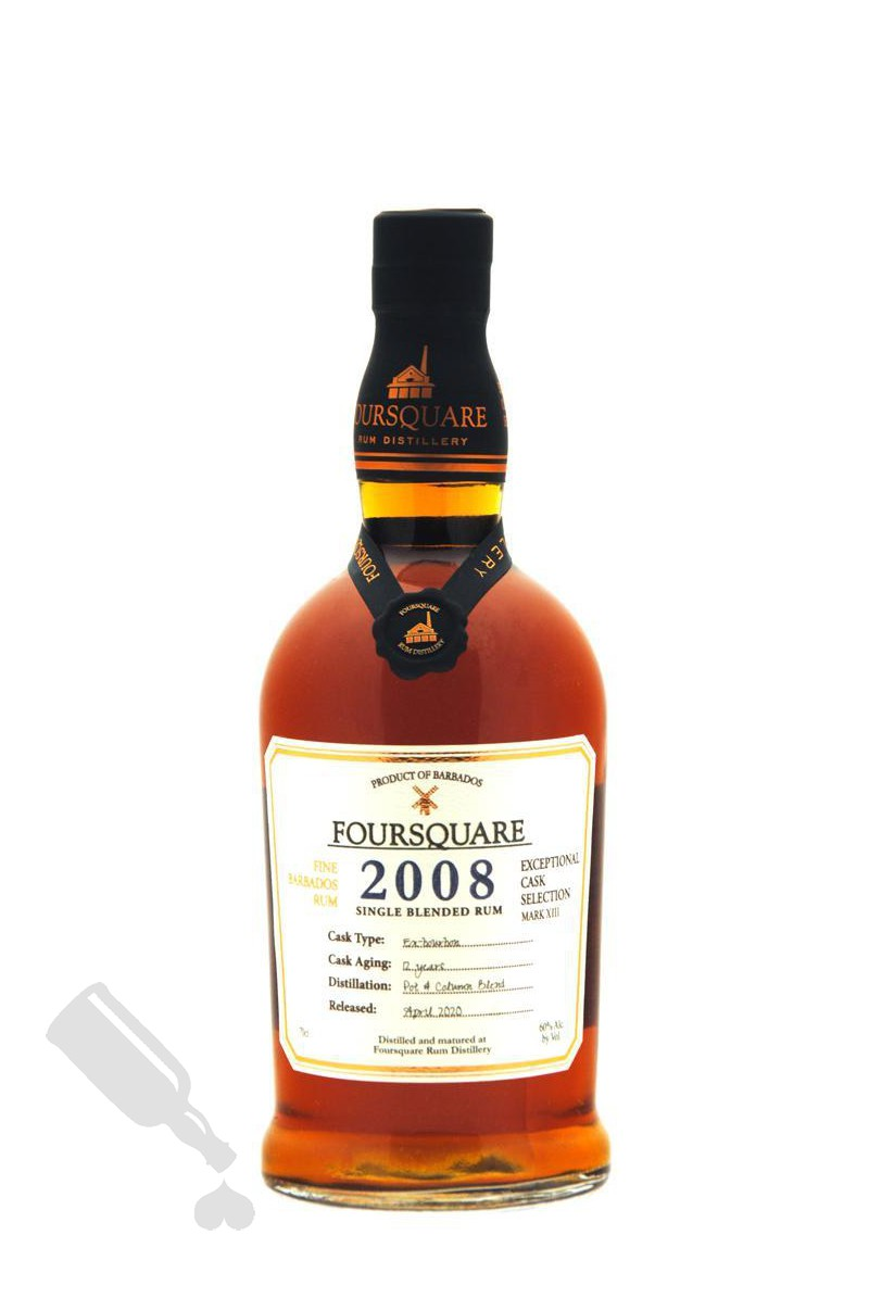 Foursquare 12 years 2008 - 2020 Exceptional Cask Selection Mark XIII