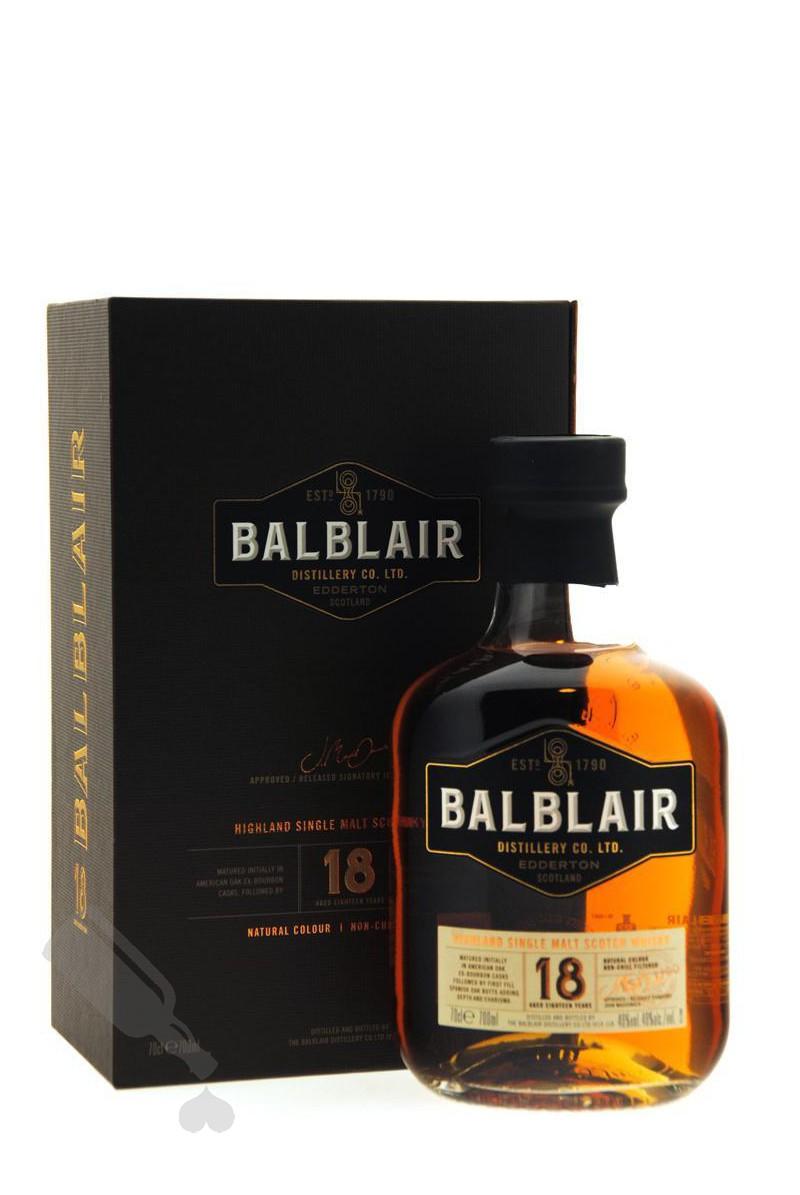 Balblair 18 years