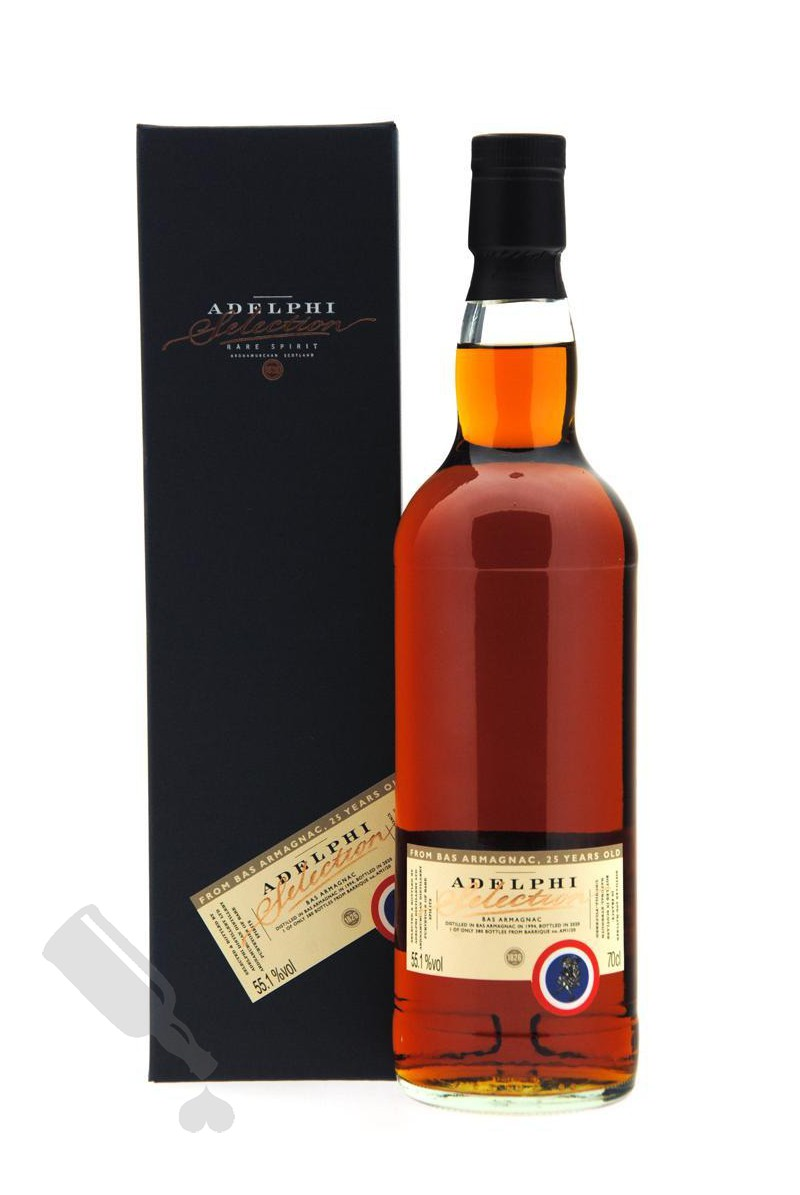 Adelphi's Bas Armagnac 25 years 1994 - 2020 #AM1/20