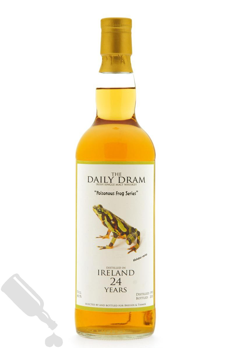 Distilled in Ireland 24 years 1993 - 2018 Poisonous Frog Series