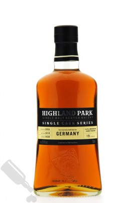 Highland Park 15 years 2003 - 2018 #4439 Single Cask for Germany