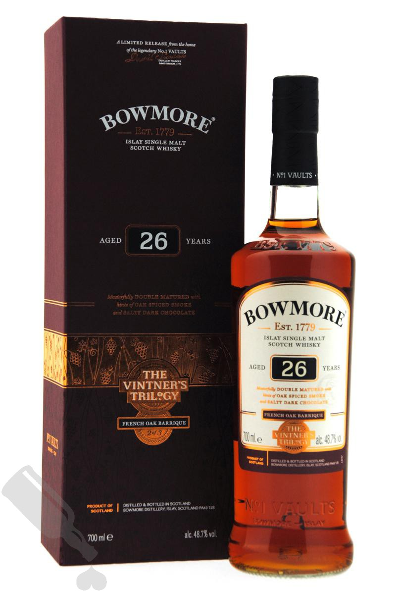 Bowmore 26 years French Oak Barrique - The Vintner's Trilogy No.2