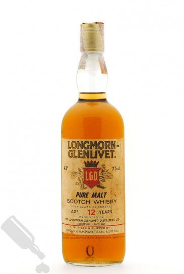 Longmorn 12 years 75cl - Old Bottling
