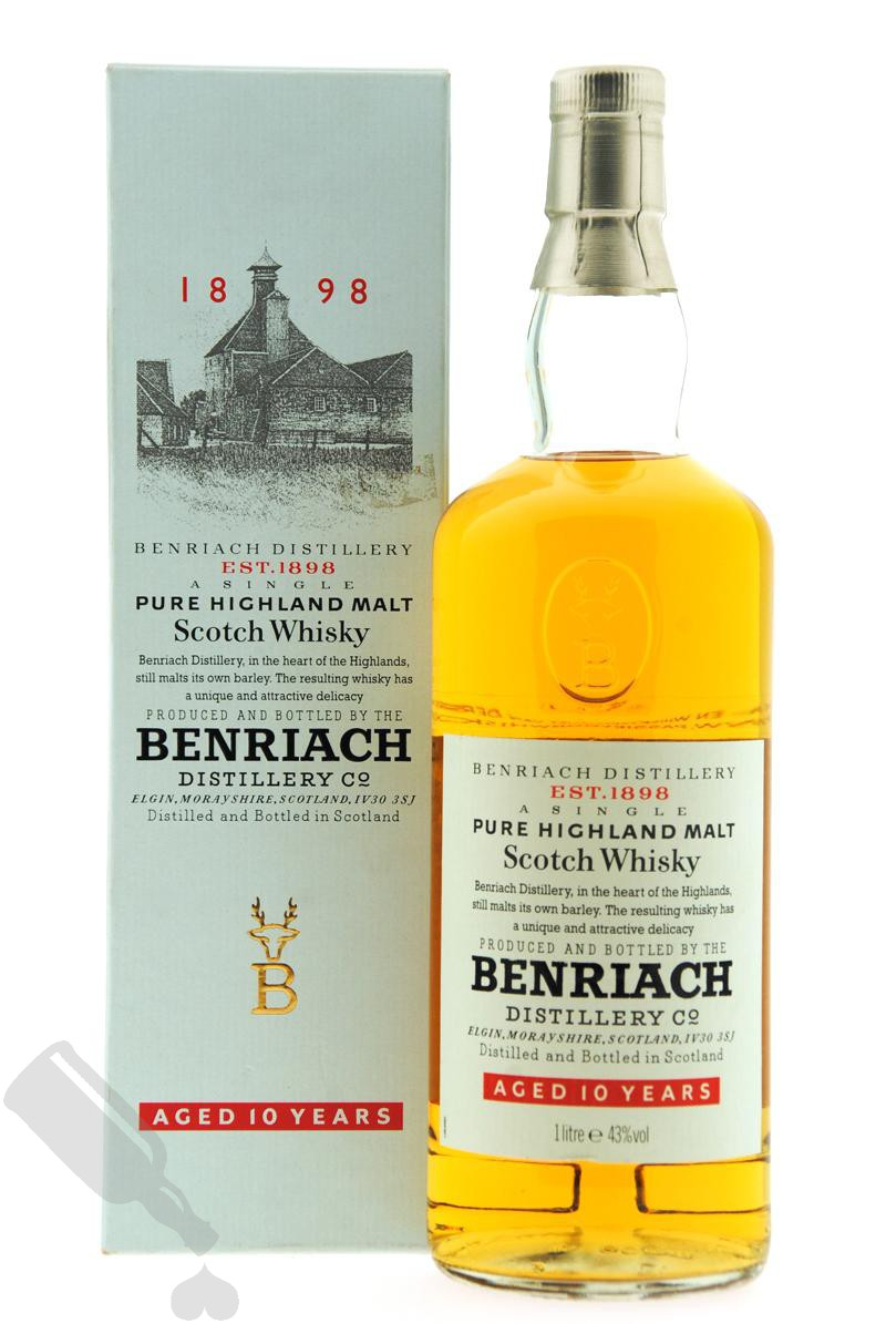 Benriach 10 years 100cl - Old Bottling
