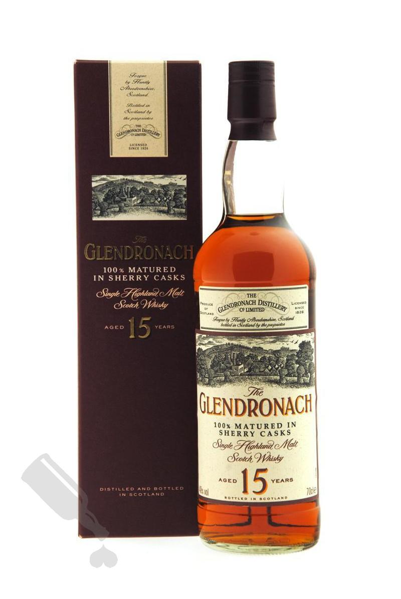 Glendronach 15 years - Bot. 00's