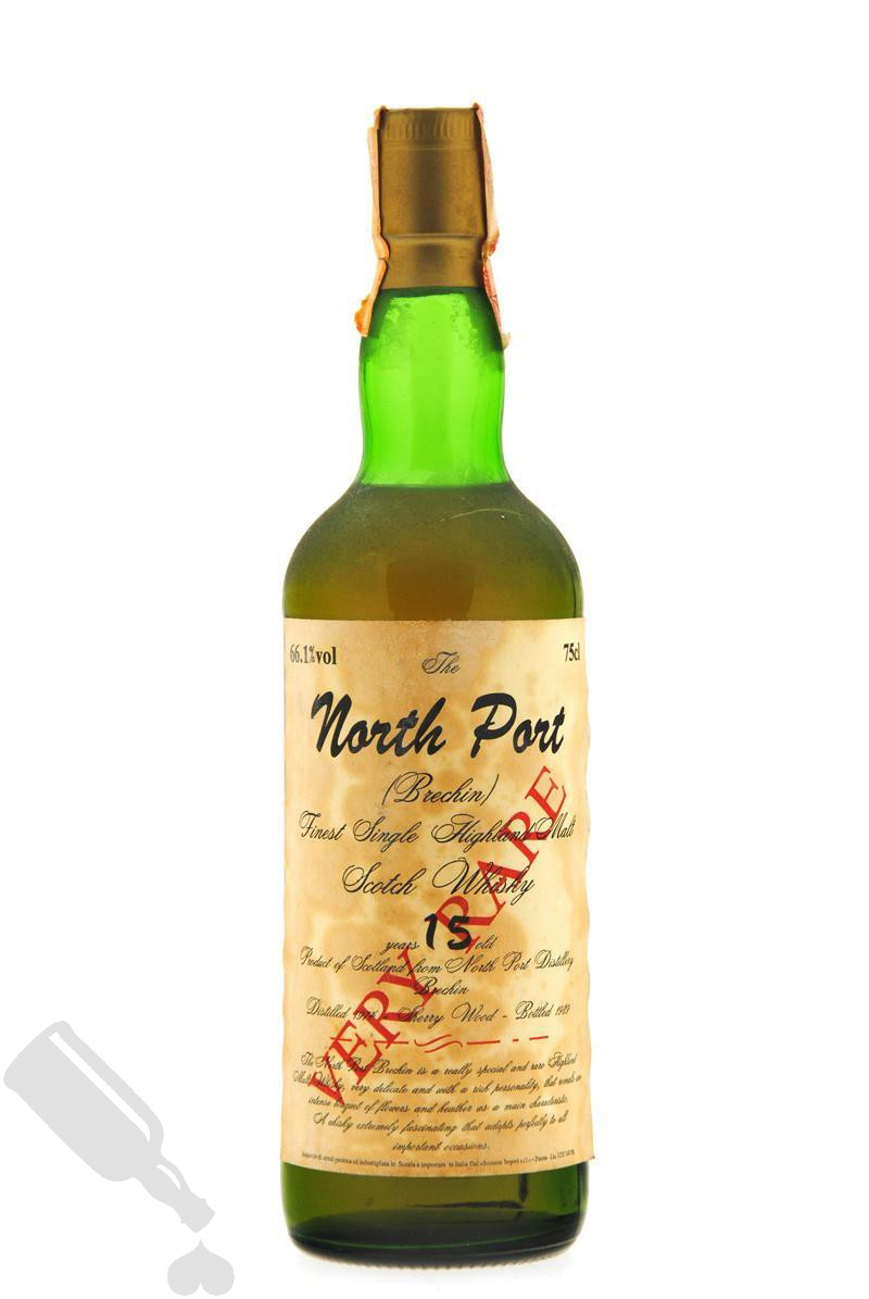 North Port 15 years 1974 - 1989 Very Rare 75cl