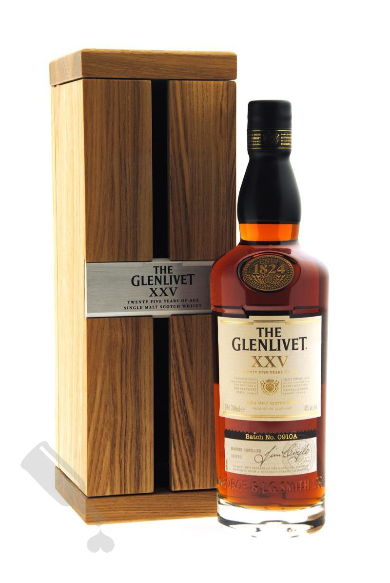 Glenlivet 25 years XXV