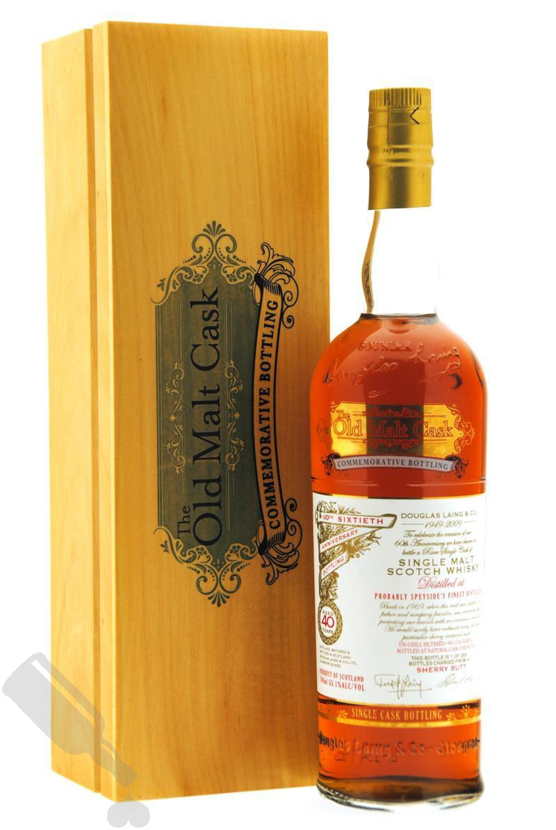 Probably Speyside's Finest Distillery 40 years 1969 - 2009