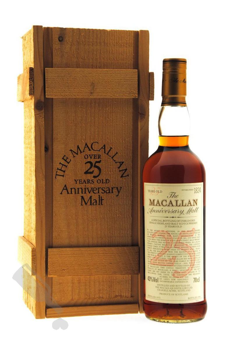 Macallan 25 years 1972 - 1998 Anniversary Malt