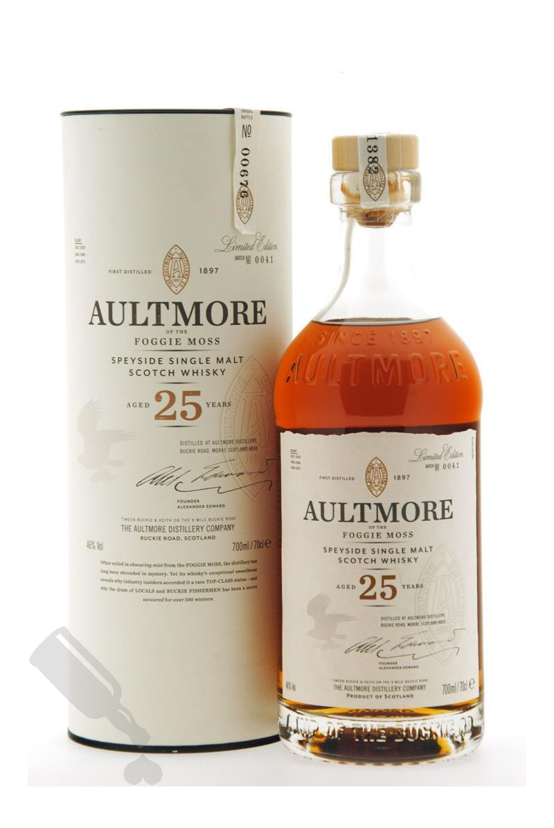 Aultmore 25 years Batch No. 0041