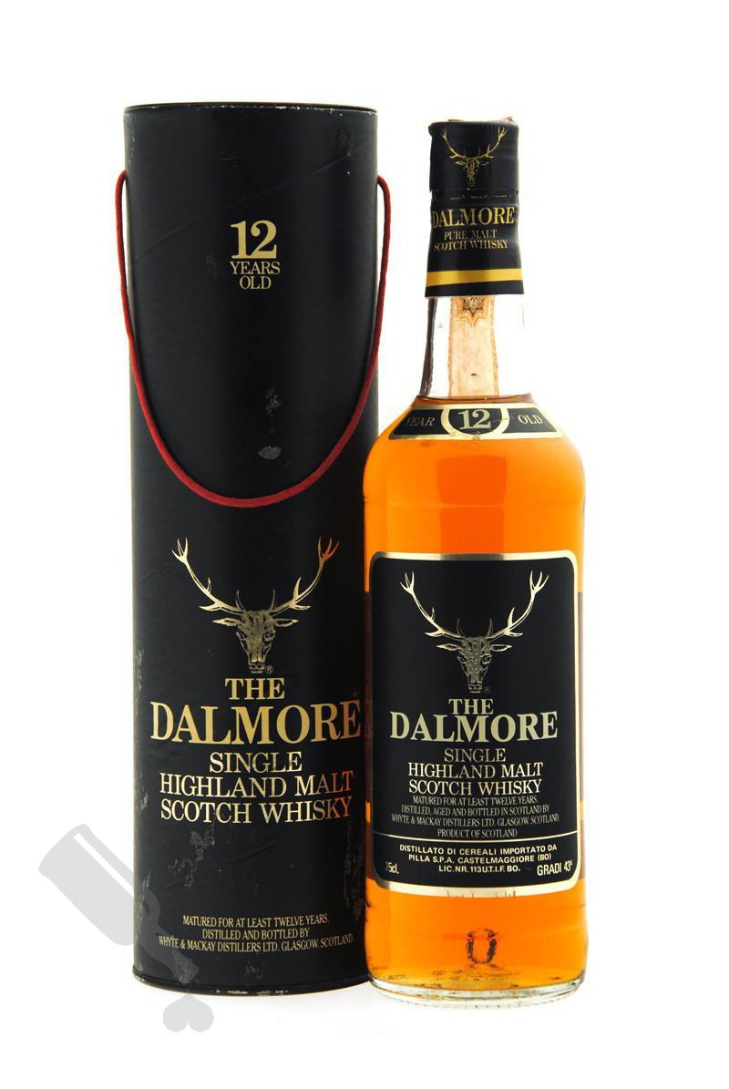 Dalmore 12 years 75cl - Bot. 1980's