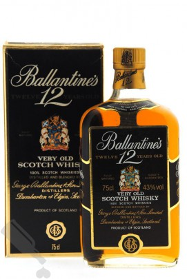 Ballantine's 12 years 'Very Old Scotch Whisky' 75cl
