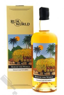 Rum of the World 4 years 2016 - 2021 Guatemala Single Cask #GT16BN1