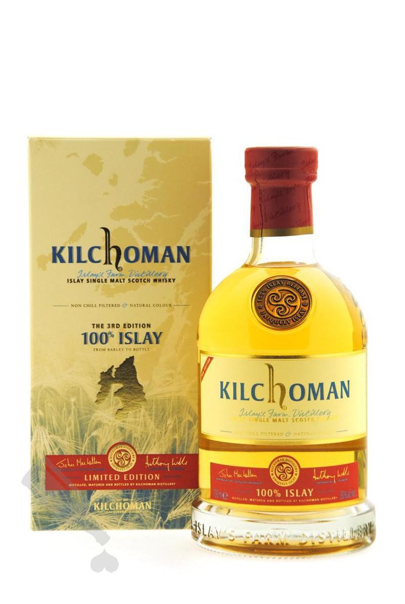 Kilchoman 100% Islay 3rd Edition