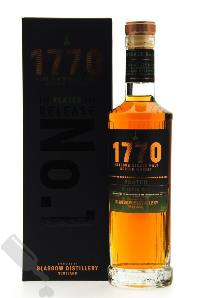Glasgow 1770 Peated Release No.1 50cl