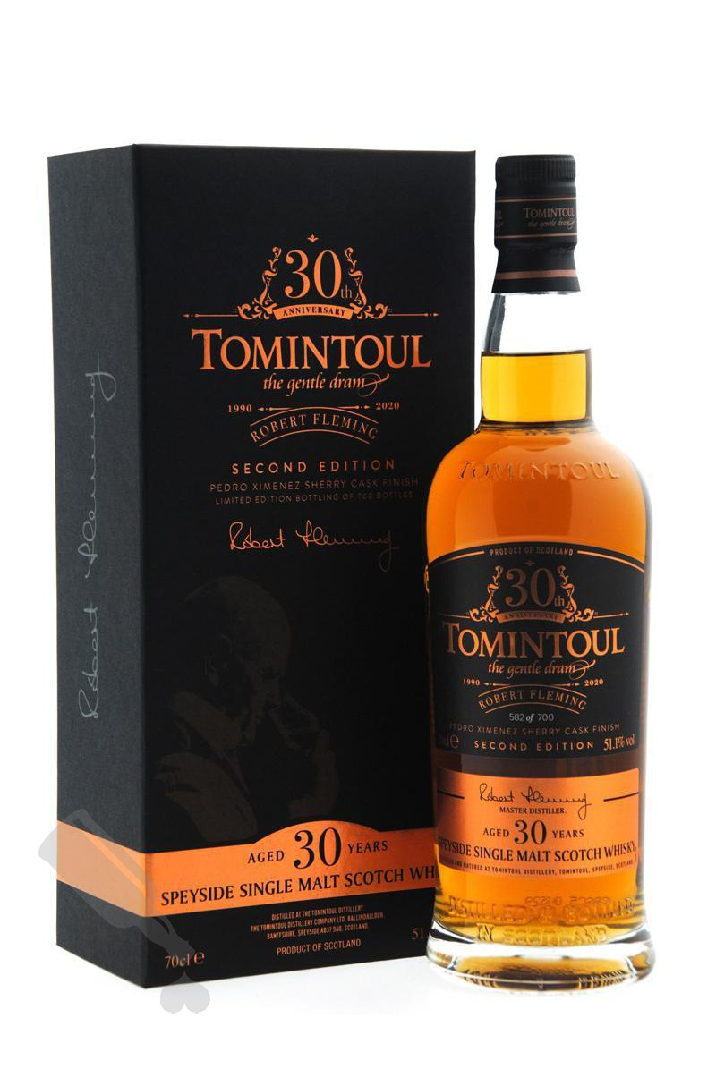 Tomintoul 30 years 1990 - 2020 Robert Fleming Second Edition