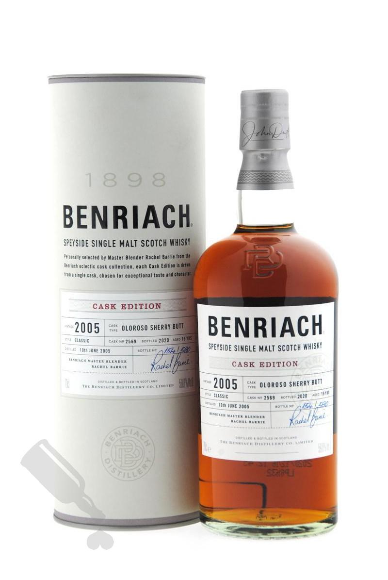 Benriach 15 years 2005 - 2020 #2569 Oloroso Sherry Butt